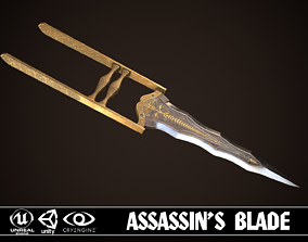 3D model Assassin Blade 04