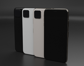 iPhone 11 Pro Max 3D Printable In Colors And Non Color