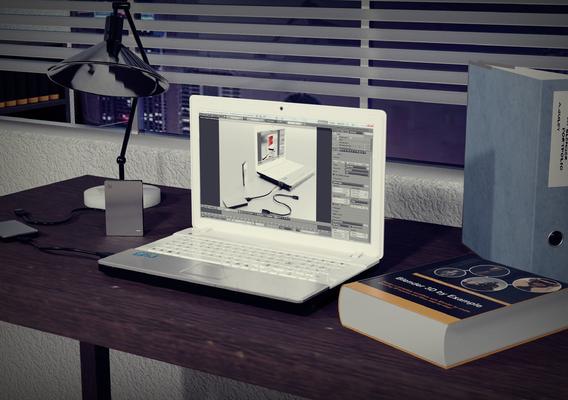 Seagate Backup Plus Slim 3D Model