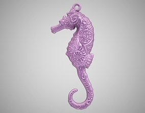 3D printable model Seahorse Necklace