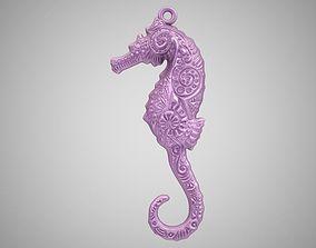 3D printable model Seahorse Necklace