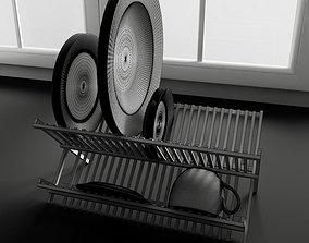 Dish drainer 3D model