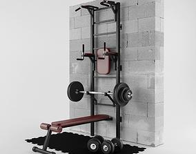 Gym Room 3D model