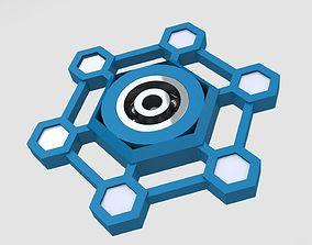 Molecule spinner 3D