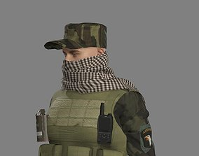 Military Special forces 3D asset
