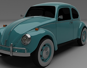 3D Vw Beetle