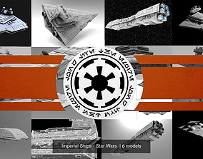 Imperial Ships - Star Wars 3D model spaceship