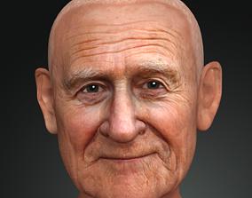Old man 3d Model Character Creator