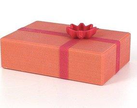 Xmas gift box 3D printable model