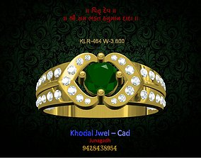 3D model game-ready fashion-and-beauty ladies ring