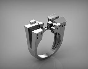 3D printable model Ring Building