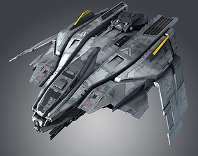 3D model SF Fighter F50