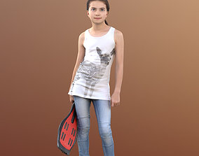 3D model Lisa 10052 - Walking Casual Child