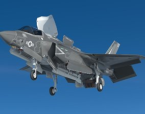 3D model Powerful F35bf