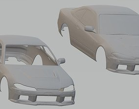 Nissan Silvia S15 Printable Body Car