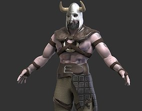 The Viking 3D asset animated