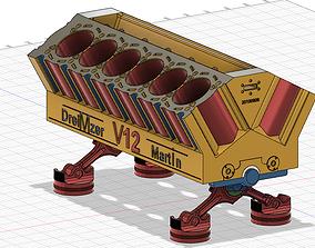 V12 Block for 3Dprinter games