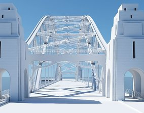 Harbour Bridge 3D Model