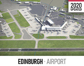 Edinburgh Airport - EDI 3D asset