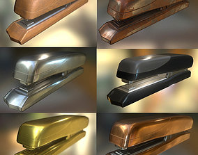 Stapler Pack Rigged And Animated 3D asset