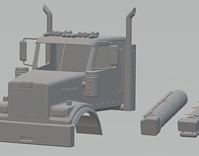 Western Star 4900SF Printable Cabin Truck