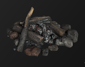 3D asset The Bonfire