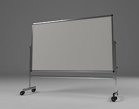 White class board 3D asset