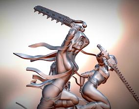 Chain Sword Punisher Nuns 3D print model