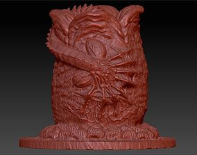 3D fantasy-and-fictional-creature ALIEN EGG