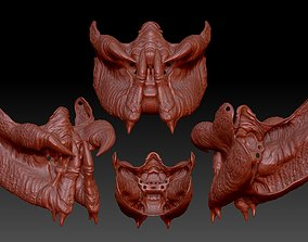predator inspired facemask 3d 3D printable model