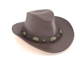 Cowboy Top Hat 3D model