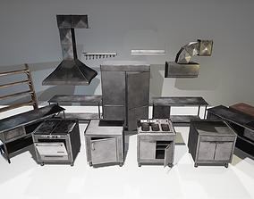 Restaurant Kitchen Set 3D model