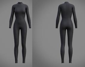 3D model Female full bodysuit
