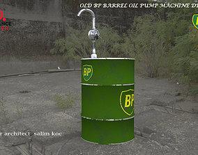 3D model OLD BP BARREL OIL PUMP DESIGN