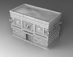 3D printable model Temple of Maya