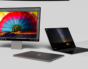 Surface Book Concept 3D model