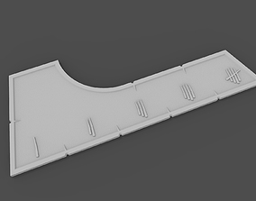 3D print model Warcry ruler blank