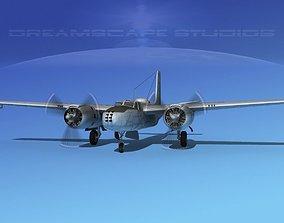 3D model Douglas A-26B Invader