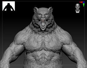 bear Rage beast strong sharp claw 3D model