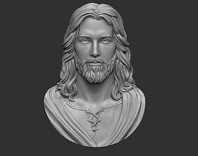3D printable model Jesus Head Pendant