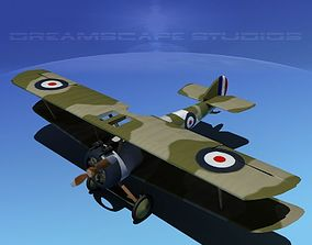 3D rigged Sopwith Camel propeller