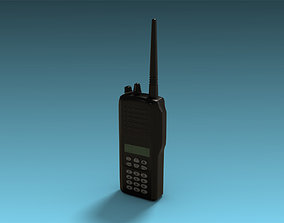 3D asset Two-way radio