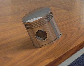 Piston cadpart 3D