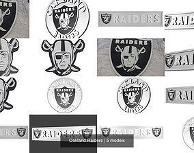 3D Oakland Raiders