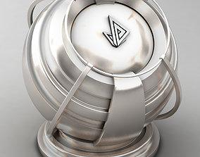 VRAY SHADER---METAL---Lithium 3D model