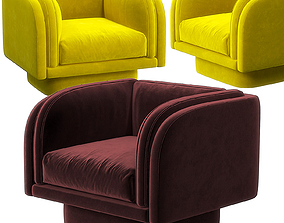 Harvey swivel chair 3D model