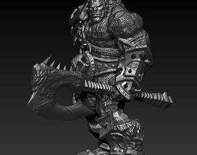 Grommash Hellscream from WoW 3D print model