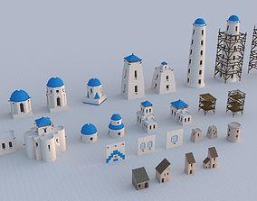 3D model Building Assets