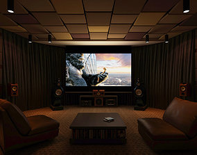 Home theatre ND 01 3D model
