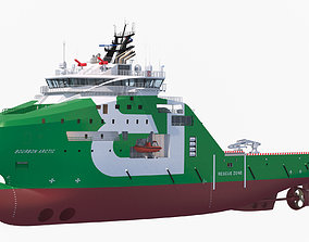 Anchor Handling Tug Supply Vessel BOURBON ARCTIC 3D